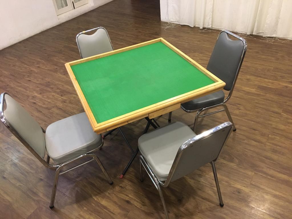 mahjong table venue rental