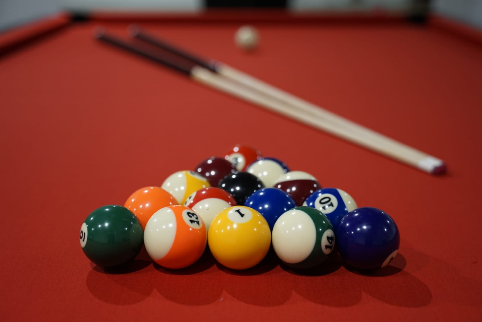 Pool Table Baby Shower Venue