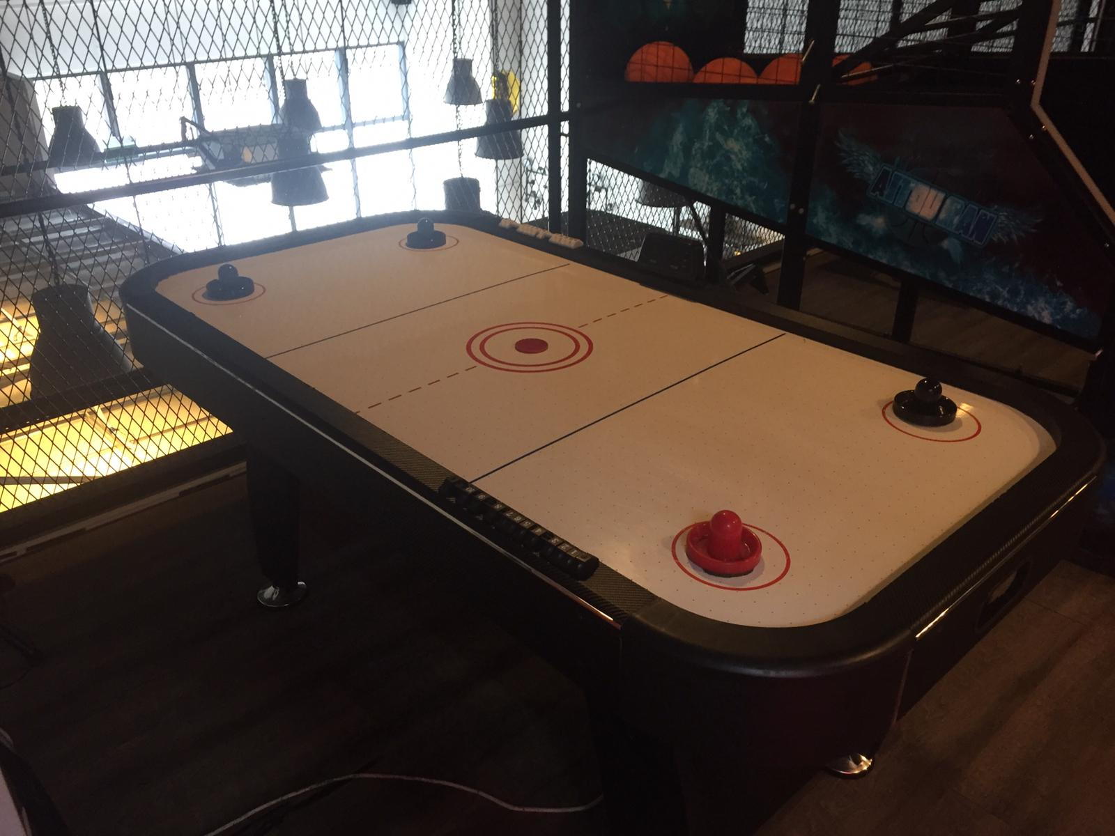 air hockey party venue rental
