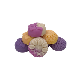 The Specialty Collection is comprised of handmade soaps that are made with unique recipes in smaller batches and are available in limited supplies.  It may also include special molded soaps such as filp flops, fairies, dinosaurs and more.
