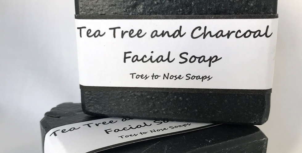 Tea Tree and Charcoal Face Soap