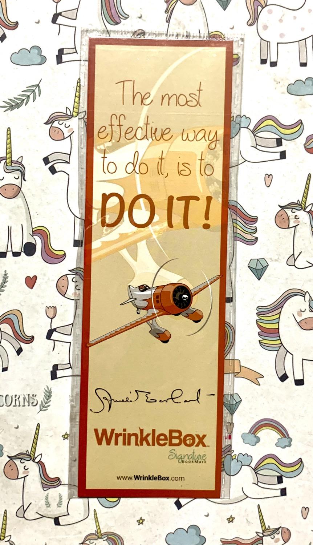 Amelia Earhart bookmark