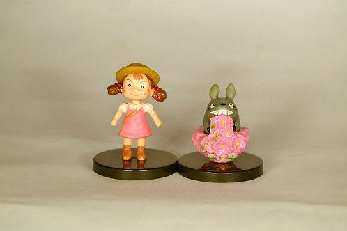 Totoro Two Figurines