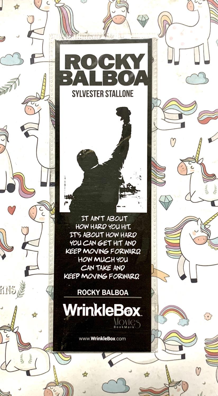 Rocky bookmark