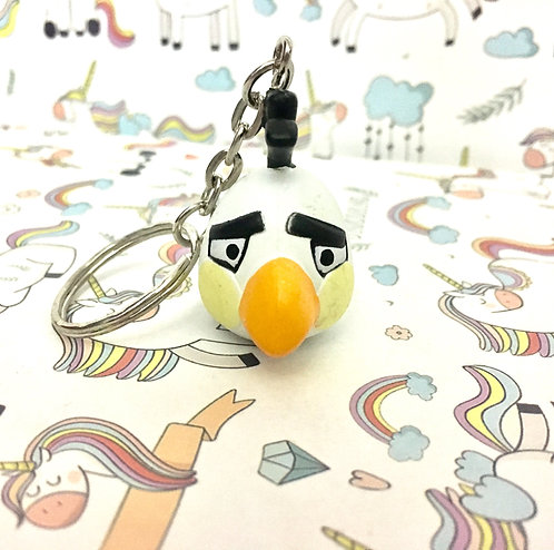 Angry birds keychain