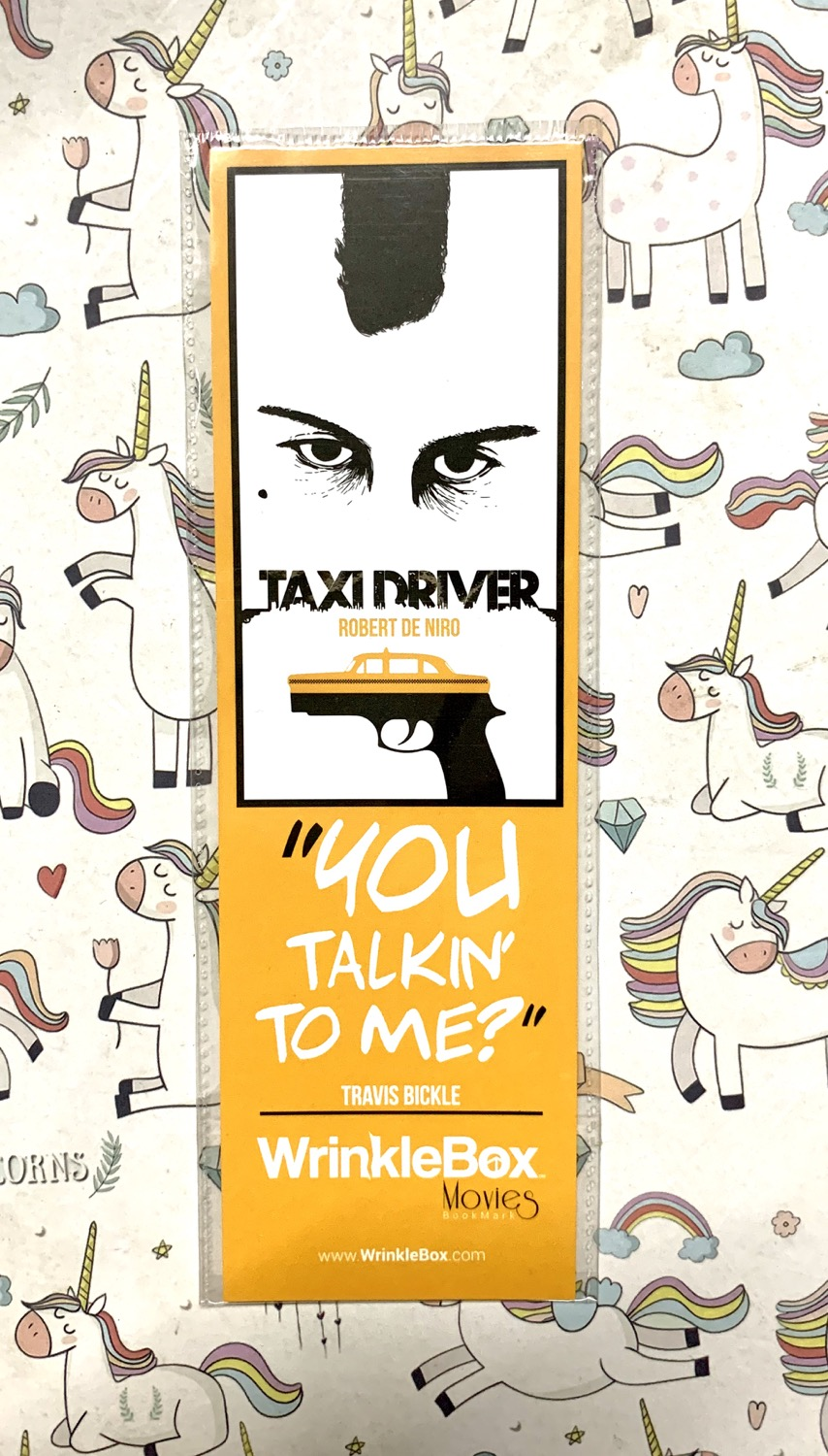 Taxi driver bookmark