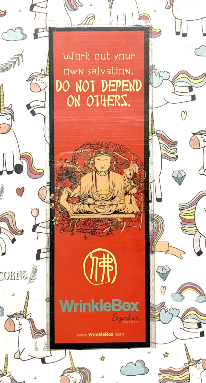 Buddha bookmark