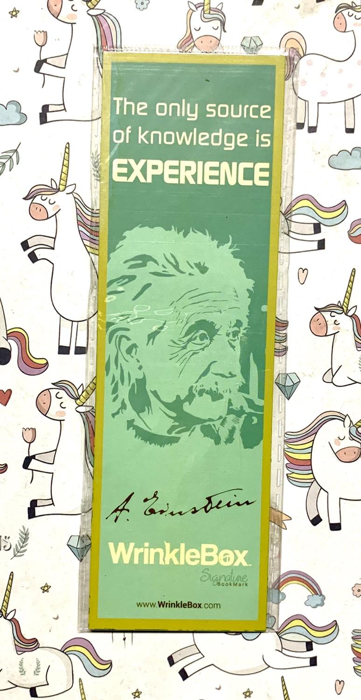 Eineshtine bookmark
