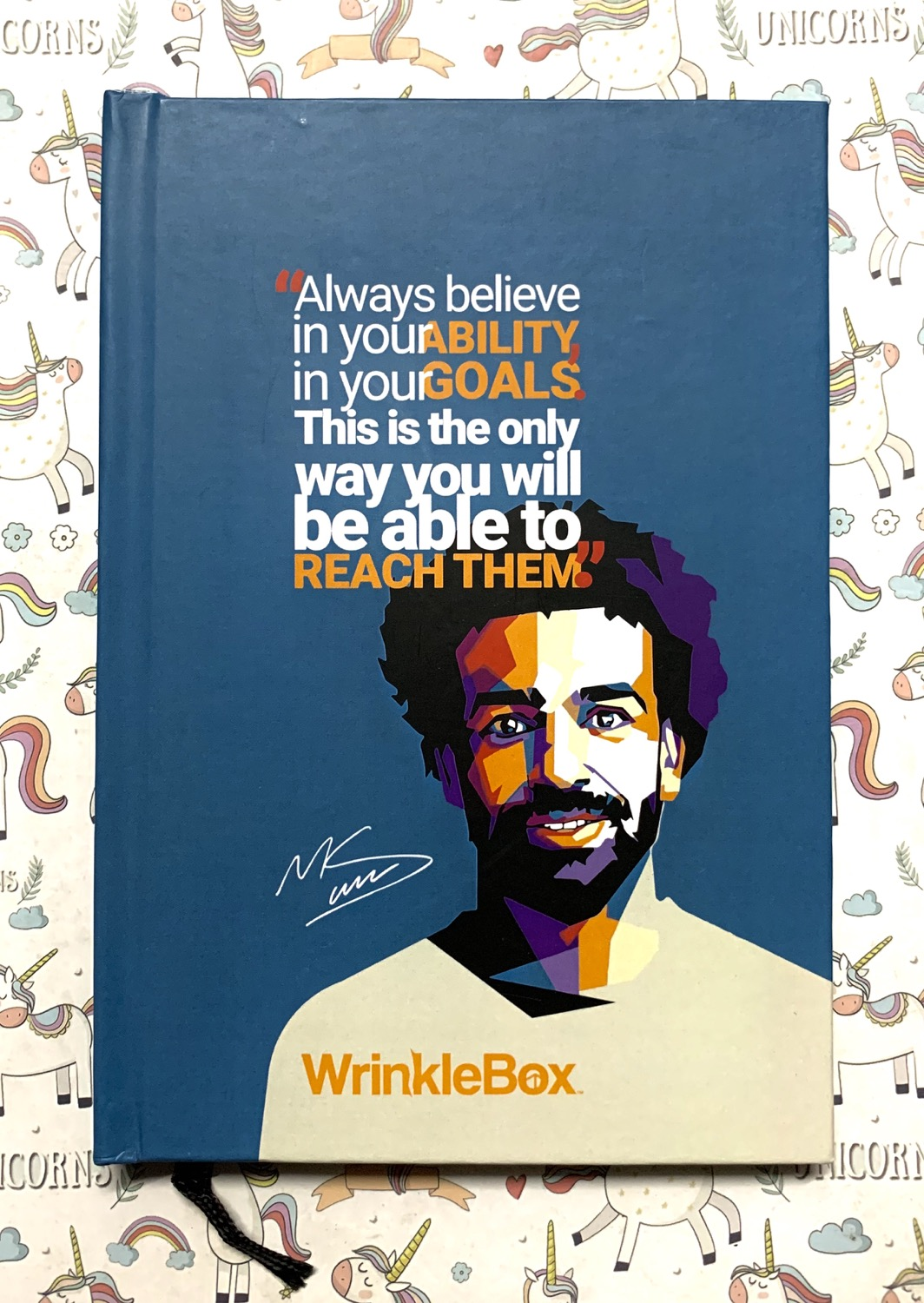 Mo Salah A5 notebook