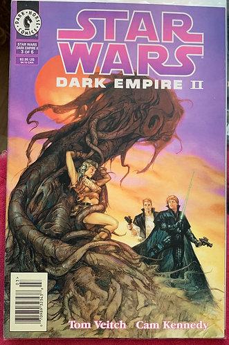 Starwars dark empire 2 volume 3 comicbook