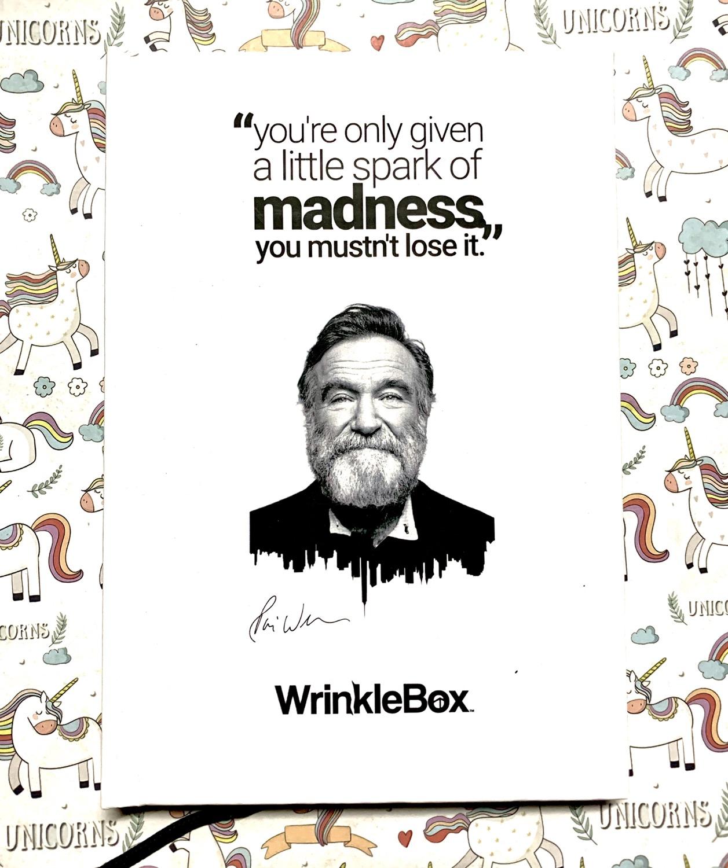 Robin Williams A5 Notebook