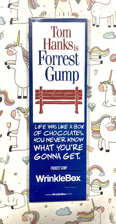 Forrest Gump bookmark
