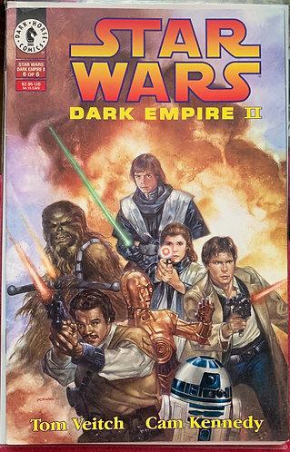 Starwars dark empire 2 volume 6 comicbook