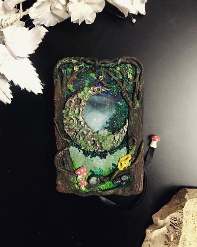 Forest moon notebook