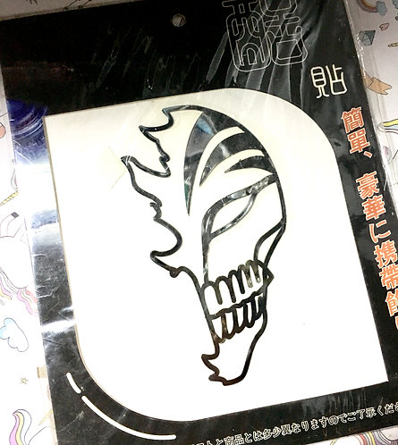 Bleach metallic sticker