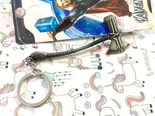 Thor's hammer keychain