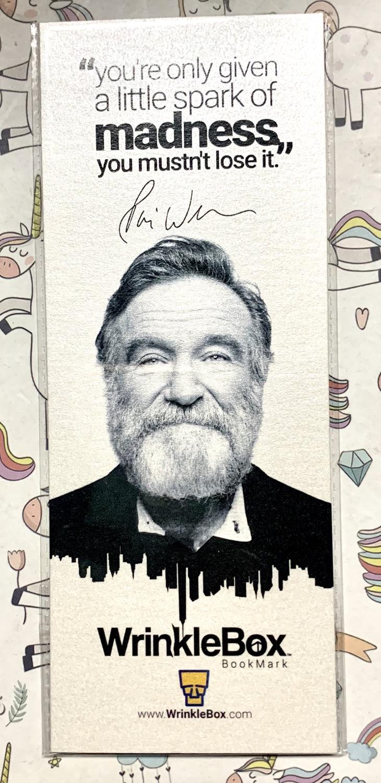 Robin Williams bookmark