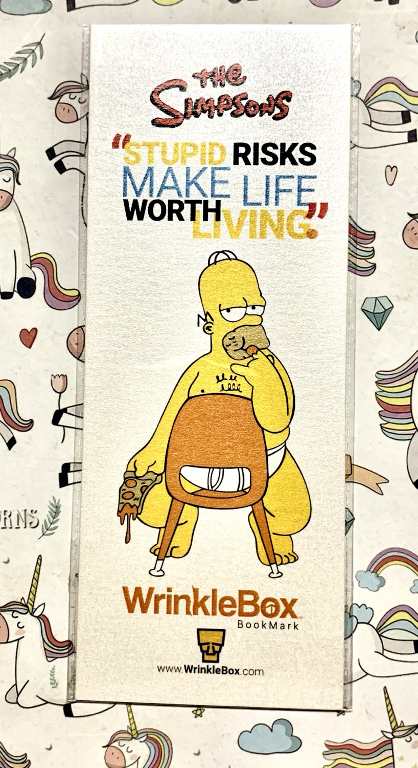 The Simpsons bookmark