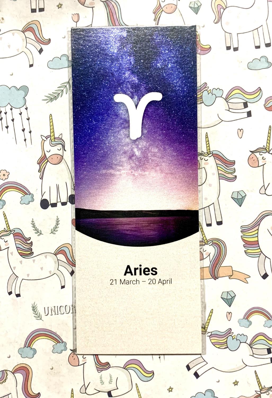 Aries bookmark