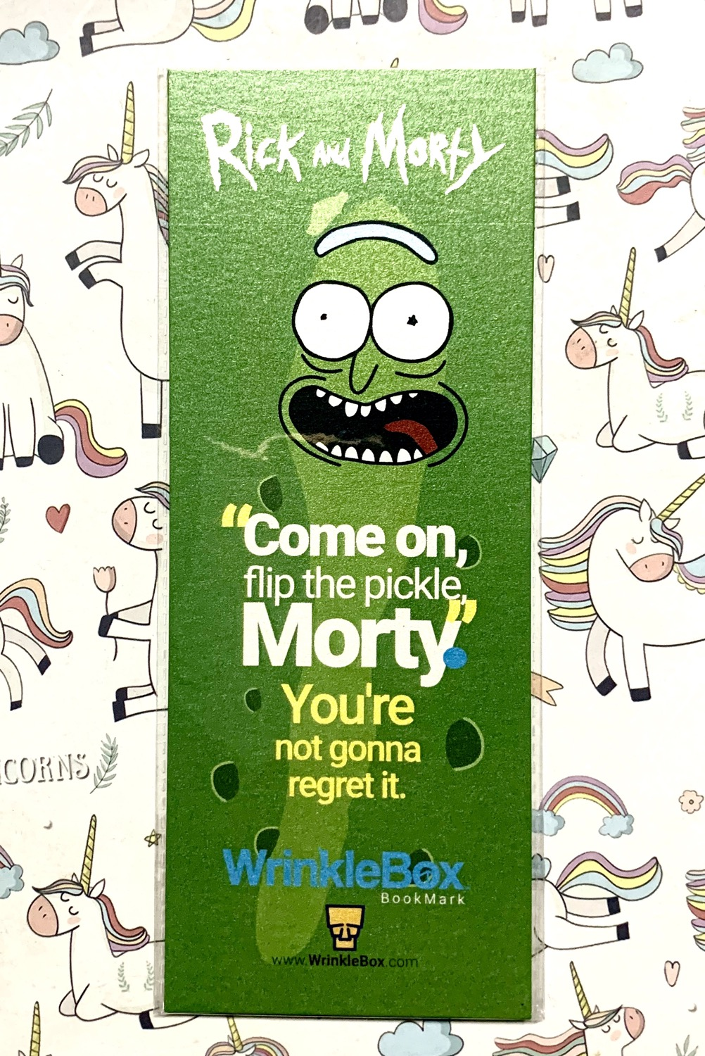 Rick and Morty bookmark