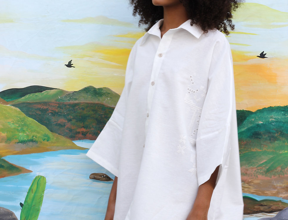 Camisa Alcina • Off White