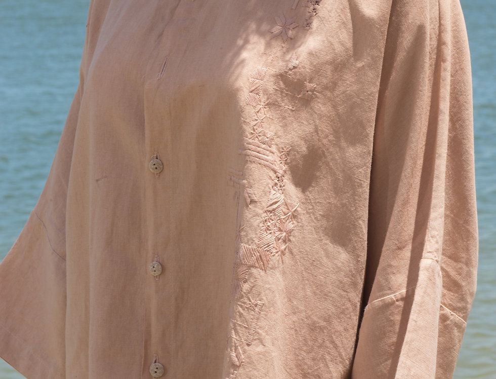 Camisa Alcina •  Angico