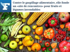Contre le gaspillage alimentaire, elle fonde un «site de rencontres» pour fruits et légumes
