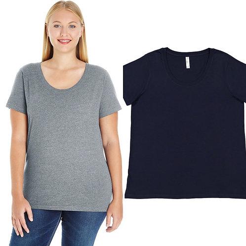 Ladies' Curvy Crew T-shirt