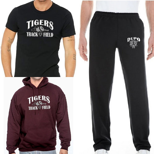 Bundle 3 - T-shirt, Hoodie & Sweatpants