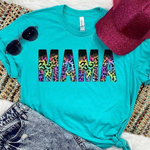Mama Rainbow Leopard