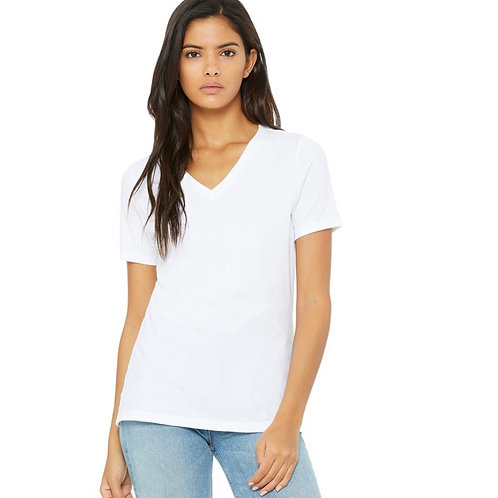 2x Ladies' Bella+Canvas Relaxed V-neck T-shirt