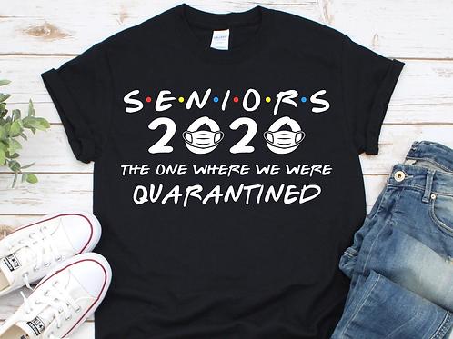 Senior 2020 Quarantined T-shirt