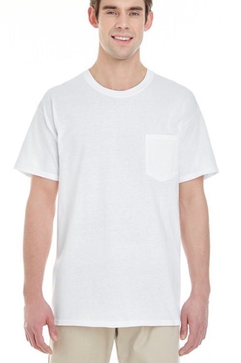 Unisex Gildan Pocket T-shirt