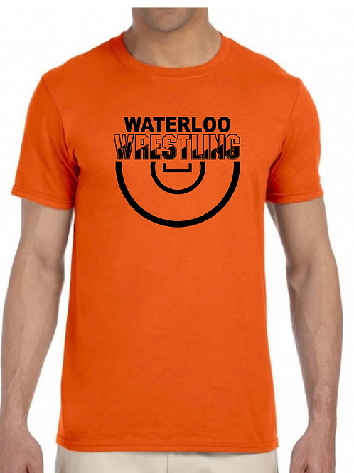 Waterloo Wrestling -  Name on back - All Styles