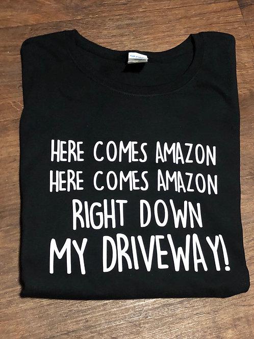 Here Comes Amazon- Vinyl