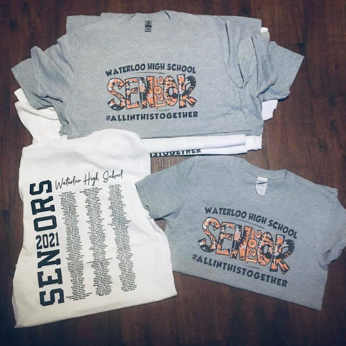 WHS Senior 2021 - T-shirt only