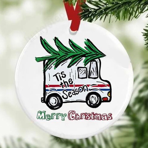 Delivery Driver Ornament Gift