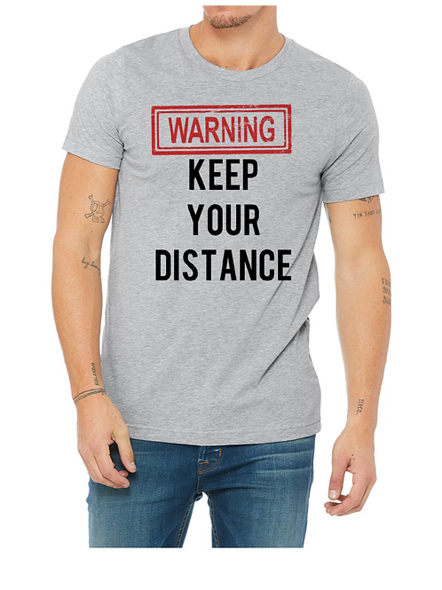 Warning Keep Your Distance