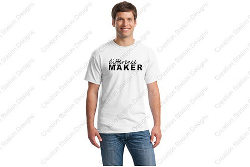 Difference Maker T-shirt - Youth & Adult  - Buy one, donate one!