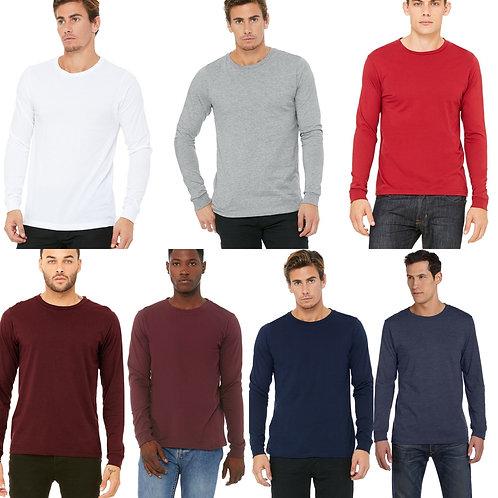 Unisex Long Sleeve Bella+Canvas Soft T-shirt