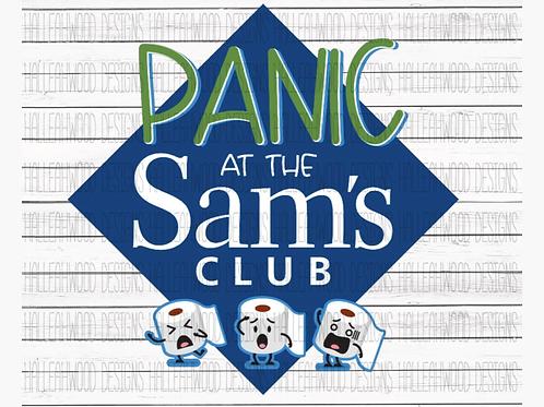 Panic at the Sam's Club