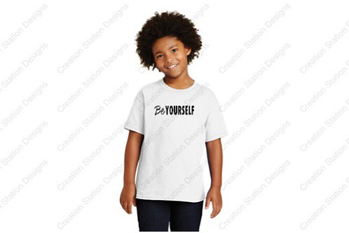 Be Yourself T-shirt - Youth & Adult  - Buy one, donate one!