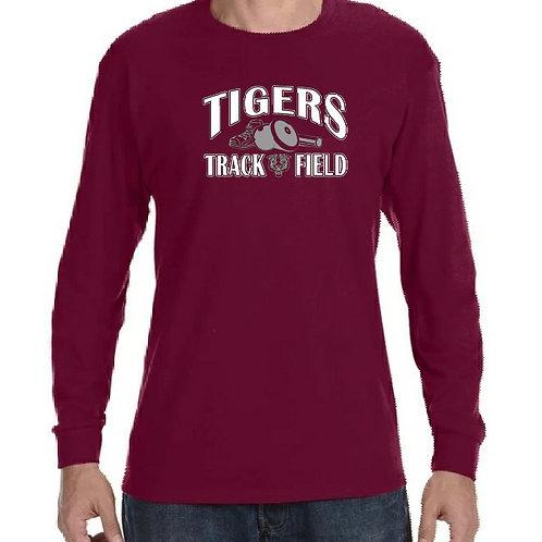 Tigers Track & Field L/S Tee