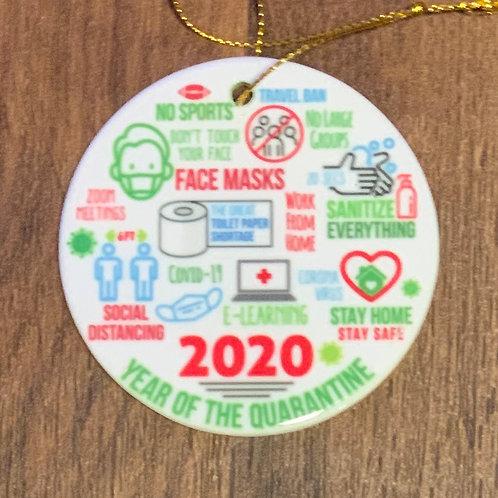 Covid 2020 Ornament