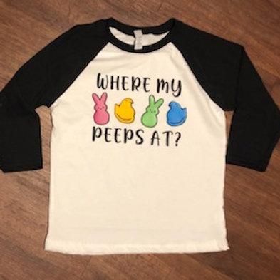 Where My Peeps at?
