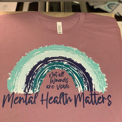 Mental Health Matters - Not all Wounds are Visible