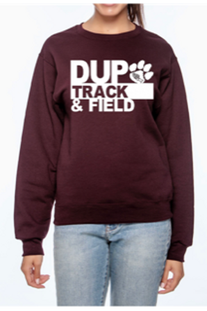 Dupo Track & Field #1 -Sweatshirt