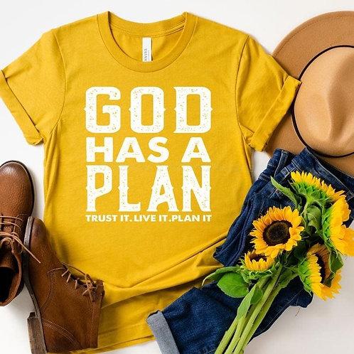 God Has A Plan - Gold