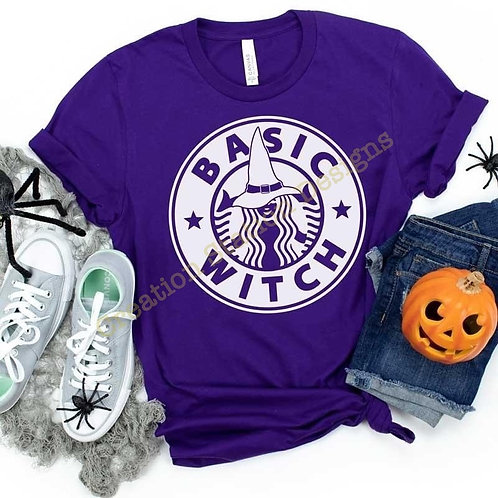 Basic Witch - Starbucks White Design