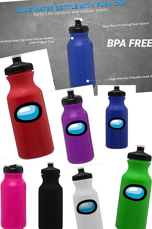Among Us Inspired Durable Sport Water Bottle